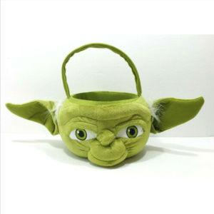 STAR WARS Yoda Plush Basket Bucket Pail 2835E3M